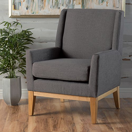 Top 8 Oliver Fabric Accent Chair  Christopher Knight Home