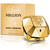 Lady Million by Paco Rabanne Eau De Parfum Spray for Women, 2.70 Ounce