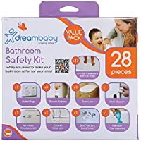 Dreambaby Bathroom Safety 28 Pieces Kit, Multicolored
