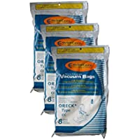 24 Oreck Type CC Xl Micro Filtration Vacuum Bags + 3 Belt, Fits All XL7, XL21, 2000s, 3000s, 4000s, 8000s, 9000s series model Upright Vacuum Cleaners, CCPK8DW, CCPK8, PK80009DW, PK80009, 2000s, 3000s, 4000s, 8000s, 9000s XL7, XL200S, XL21 XL-9100C, XL-9200, XL-9300, XL-9400, XL9100HG SL-100C, XL-888, XL-5000, XL-5300, XL-8300