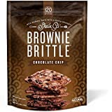 Brownie Brittle, Chocolate Chip, 5 Oz Bag (Pack of 6), The Unbelievably Delicious Chocolate Brownie Snack with A Cookie Crunch