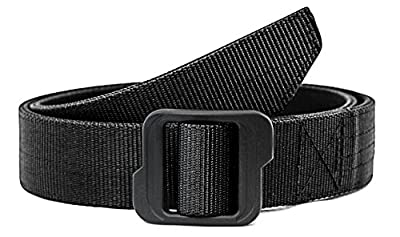 WOLF TACTICAL Nylon EDC Web Belt - Double Layered Military Style Tactical Belt - No Metal - Outdoor Sports Wilderness Hunting Tools Survival Concealed Carry CCW Holsters Pouches from WOLF TACTICAL