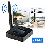 EEEKit WiFi Display Box, 2.4G + 5G Wireless Airplay Miracast DLNA Cast Screen Mirroring with HDMI USB RCA (AV) Output, Allshare Video Audio for TV Monitor