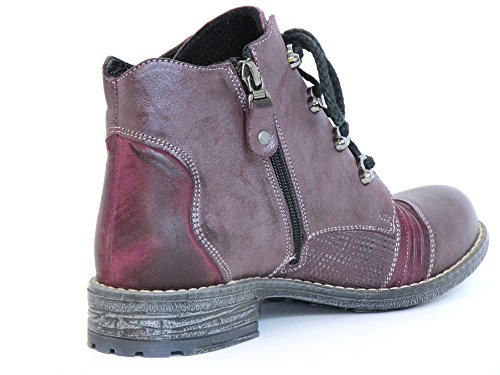 Maciejka Women Ankle Boots violet, (rot) 3116-23/00-3 rot