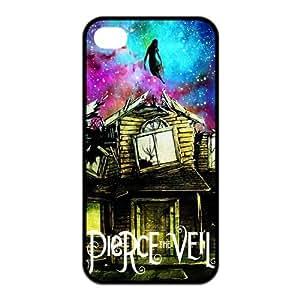 FEEL.Q- Unique Custom TPU Rubber iPhone 4/4S Case Cover - Pierce The Veil