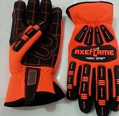 High Impact High Visibility Work gloves