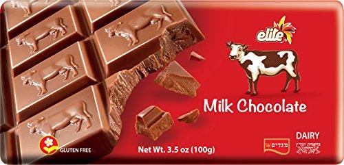 - Elite Chocolate Bar Solid Milk, 3.5 oz