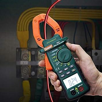 YYONGAO Digital Clamp Meter DT3266L Digital Clamp Meter Multimeter Voltage Current Resistance Tester LSD Tool Tools