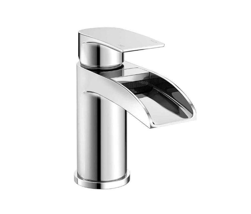 Edelstahl Einhand Wasserhähne Küche Luxus-Wasserfallbecken-Mischbatterie