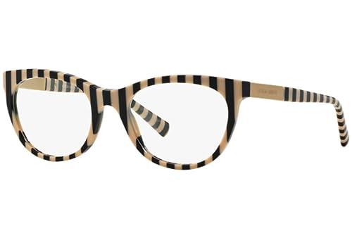 Giorgio Armani Für Frau 7082 Black Rule / Beige Kunststoffgestell Brillen, 54mm