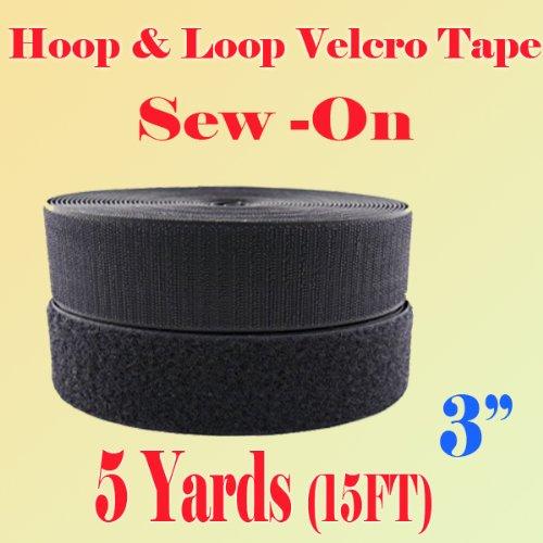 3 inch sew on velcro - 1