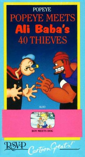 Popeye Meets Ali Baba's 40 Thieves / Boy Meets Dog (RSVP Cartoon Greats)