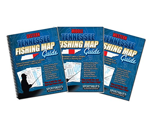 Tennessee Fishing Map Book Guides Set - Previous Editions