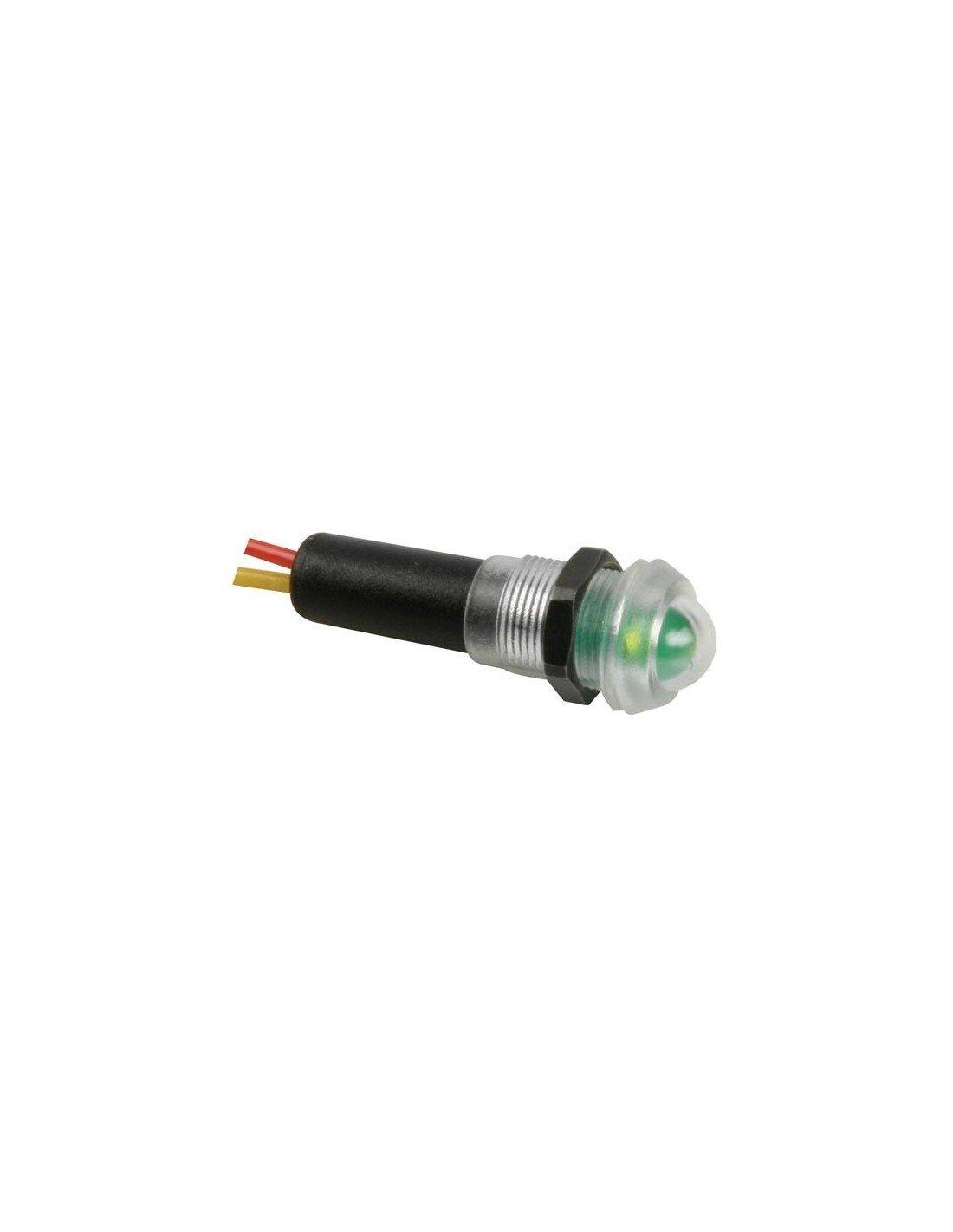 VS Electronic 124096 LED Signalleuchte, 12 V, Wasserdicht, Grü n VS Electronic Vertriebs GmbH