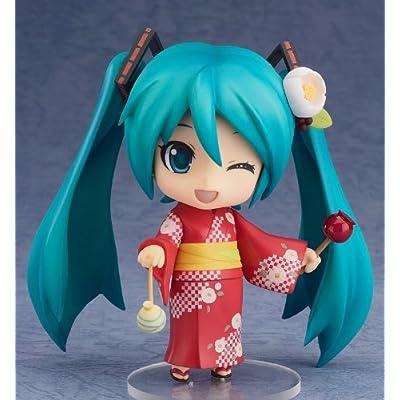 Good Smile Hatsune Miku: Nendoroid Action Figure Yukata Ver. Natsutsubaki: Toys & Games