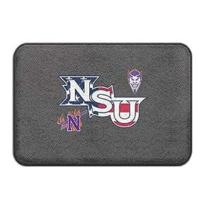 vdseht Northwestern State University NSU demonios Logo antideslizante Felpudo