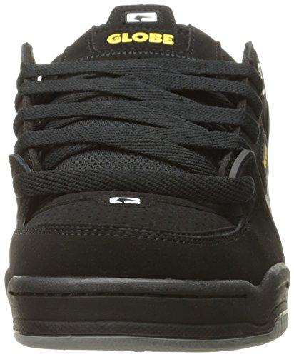 Globe Heren Fusion Skate Schoenen Zwart / Grijs / Geel