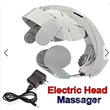 Electric Head Massager Scalp Massage Relax Acupuncture Points by gokustore