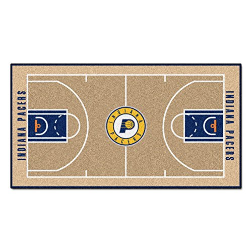 Indiana Pacers Nba Car - FANMATS NBA Indiana Pacers Nylon Face NBA Court Runner-Large