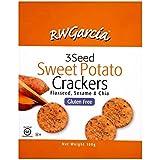 RW Garcia Sweet Potato 3 Seed Crackers 180g