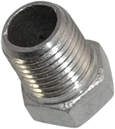 "1//2/"" Male x 3//8/"" female BSPT HEX REDUCING BUSH STAINLESS STEEL PIPE FITTINGS"