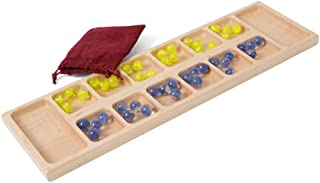 product image for DutchCrafters Amish Wooden Toy Maple Mancala Game