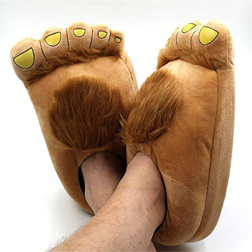 Boot Cosplay - Movie Hobbit Cosplay Costumes Shoes Creative Bigfoot Cotton Slippers Lovers Keep Warm Home - Cosplay Accessories Glitter Shoes Boys Women Native Kids Crews Girls -
