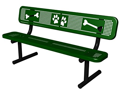 BarkPark Sit and StayPark Bench, ()