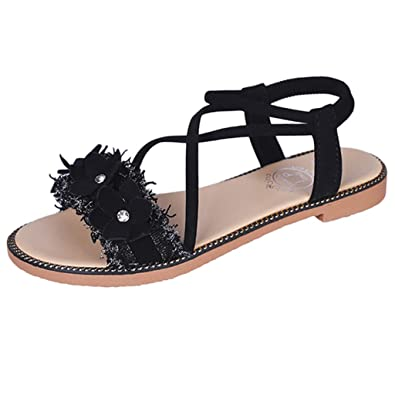 03f788838759f Amazon.com: DOMUMY Closed Toe Sandals for Women, Fashion Lady Wild ...
