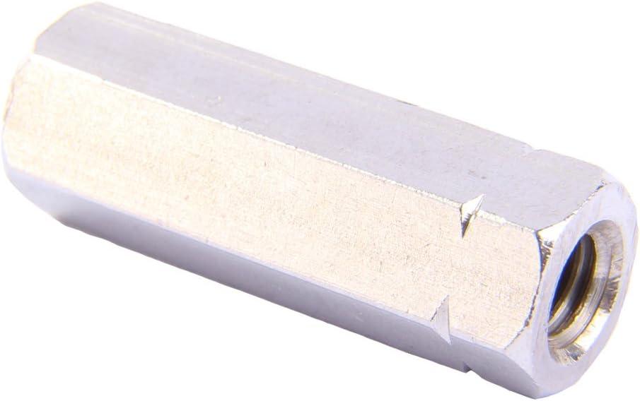 - Verbindungsmuttern Langmuttern Distanzmuttern Gewindeh/ülsen Edelstahl A2 Gewindemuffen M10 X 20 Sechskant 2 St/ück