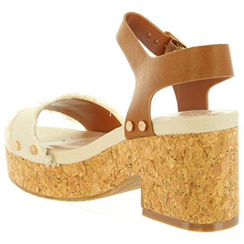 Sandales 01 Femme ISA Beig CHIKA10 pour 0qg0w8F