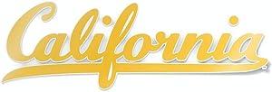 California Berkeley Script California Logo Car Decal Bumper Sticker