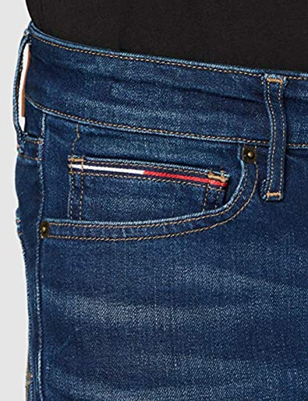 Tommy Jeans Simon Skinny Sctyd Straight jeans męski: Odzież