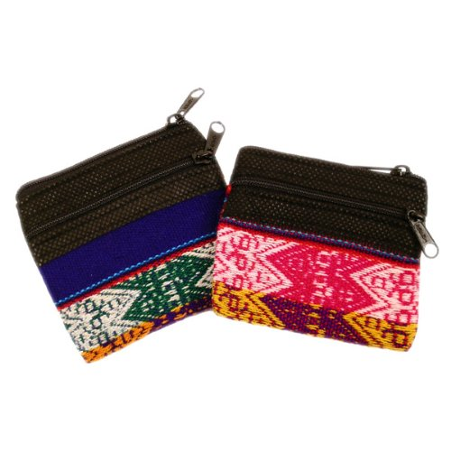 Coin Purse Cotton Hand Woven 3