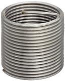 E-Z Lok Threaded Insert, 18-8 Stainless Steel, Helical, #8-36 Internal Threads, 0.164'' Length (Pack of 10)