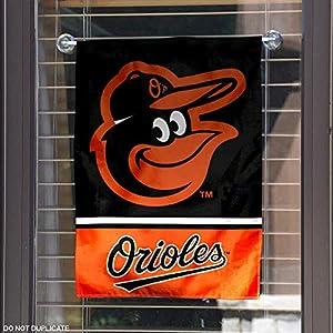 Baltimore Orioles Double Sided Garden Flag
