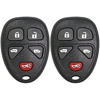 2 Pack Keyless2Go New Uncut Replacement PK3 Transponder Ignition Car Key B99