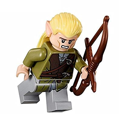 Lego Lord of the Rings Legolas Minifigure: Toys & Games