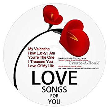 CREATE-A-BOOK - LOVE SONGS FOR YOU - Amazon com Music