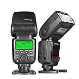 Voking Professional Master Slave E TTL Speedlite Flash Flash V580 for Canon EOS 70D 77D 80D Rebel T7i T6i T6s T6 T5i T5 T4i T3i SL2 and Other Eos Digital DSLR Camera with Standard Hot Shoe