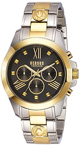 Versus by Versace Men's SBH060015 Chrono Lion Analog Display Quartz Two Tone Watch