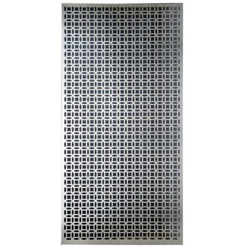 M-D Building Products 57322 Decorative Elliptical Aluminum - Building Cabinet Doors