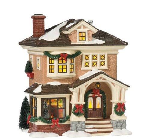 Department 56 Snow Village Christmas at Grandma's Lit House