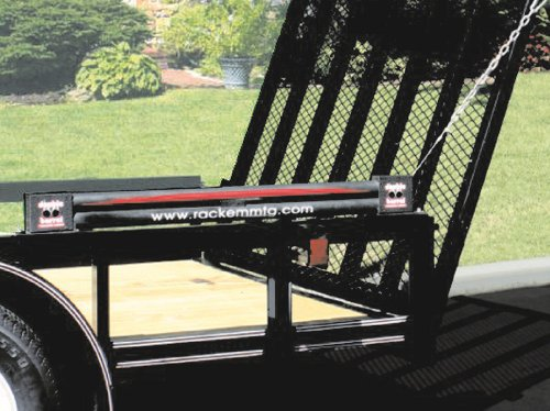 RACK'EM MFG Double Barrel Chain Driven Trailer Gate Lift Assist (RA27C) by
