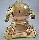 Brass Nautical 7.5 High Brass Diving Helmet from