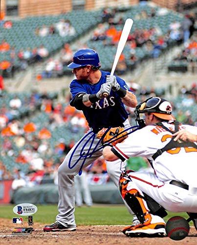Autographed Josh Hamilton Photograph - 8x10 BAS #F84831 - Beckett Authentication - Autographed MLB Photos ()