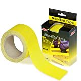 Non Slip Safety Tape - S&X Strong Adhesive Anti Slip Grip Tape High Traction Anti Skid Tread Slip Resistant Stickers for Outside/Deck/Stairs/Truck/Shoe Soles (Yellow)
