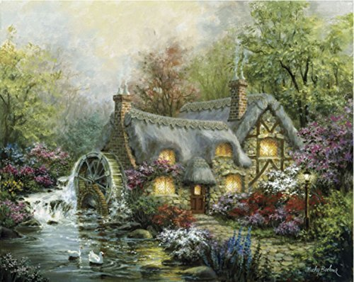 "Chamberart 1000Piece Premium Jigsaw Puzzles ""On The Afternoon Of The Woods"" A-1078 By Nicky Boehme"
