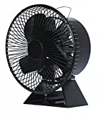 VODA New Designed 3 Blades Heat Powered Stove Fan About 175 CFM with Protective Cover More Safe and Comfortable