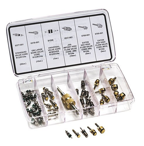 MASTERCOOL 91337 R-12/R-134a Valve Core Repair Kit